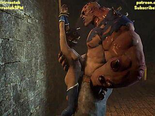 Monstern mit anime sex Monster Hentai